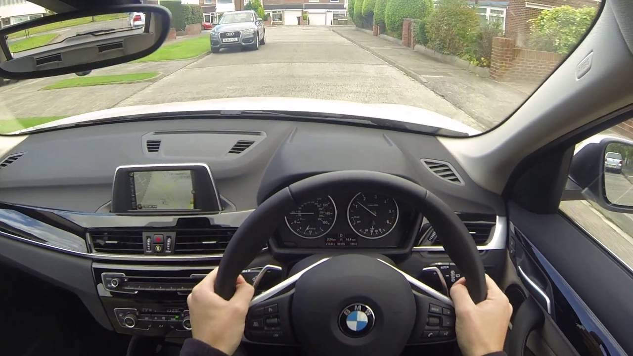 BMW F48 X1 2 0d Automatic POV Test Drive 2017 Model