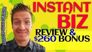 InstantBiz Review 💚 BIG SOFTWARE BONUS 💚 Instant Biz Rev…
