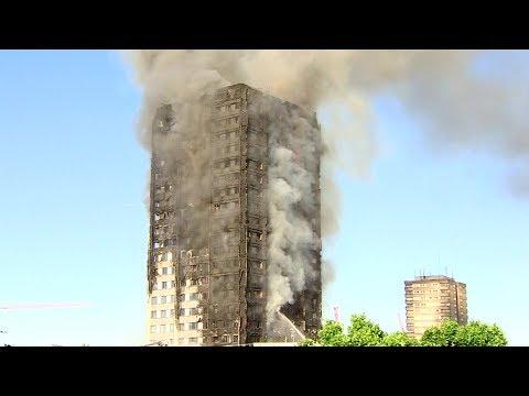 London: Mehrere Tote bei Brand in Hochhaus