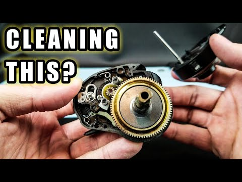 How to Disassemble and Clean a Baitcaster for Beginners (Part 1)