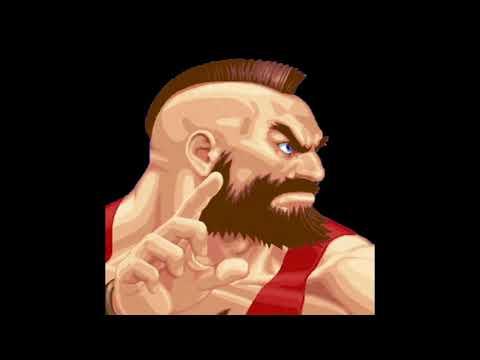 Hyper Street Fighter II Arranged Music - Zangief (CPS1 Pitch)