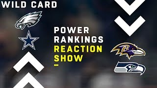 NFL Power Rankings Show: Wild Card Weekend