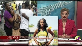 Jamaica News-Oct/23-National Junior Record holder Daeshon Gordon Passed-TVJ News