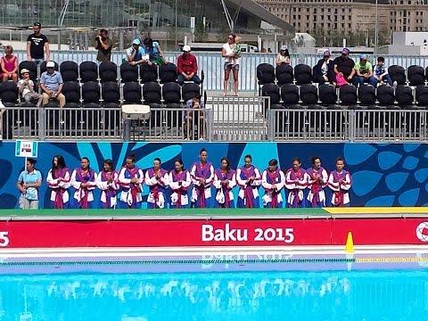 Serbia vs France Women Water Polo, Baku 2015