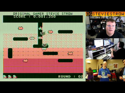 Pump Man clone of Dig Dug for the TRS 80 Color Computer