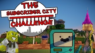 BMO & Rapunzel?! | The Subscriber City Challenge | Ep.4