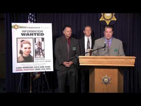 LASD Homicide Bureau Seeks Help in 1995 Cold Case Murder of Gail Allen October 4, 2012