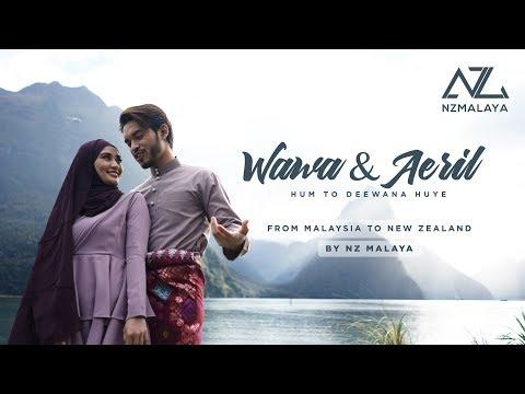 NZ Malaya | Wawa & Aeril shoot music video Hindustan di tempat paling 'Rare' di New Zealand?