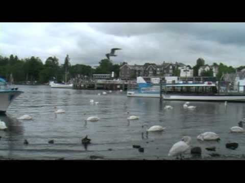 A Day of Cruises on Lake Windermere, Lake District, England