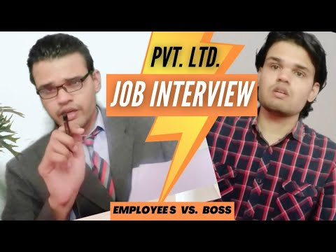 Episode 1   Interview In Private Company   Employee Vs Boss   Series 1   Its Ok Sumeet