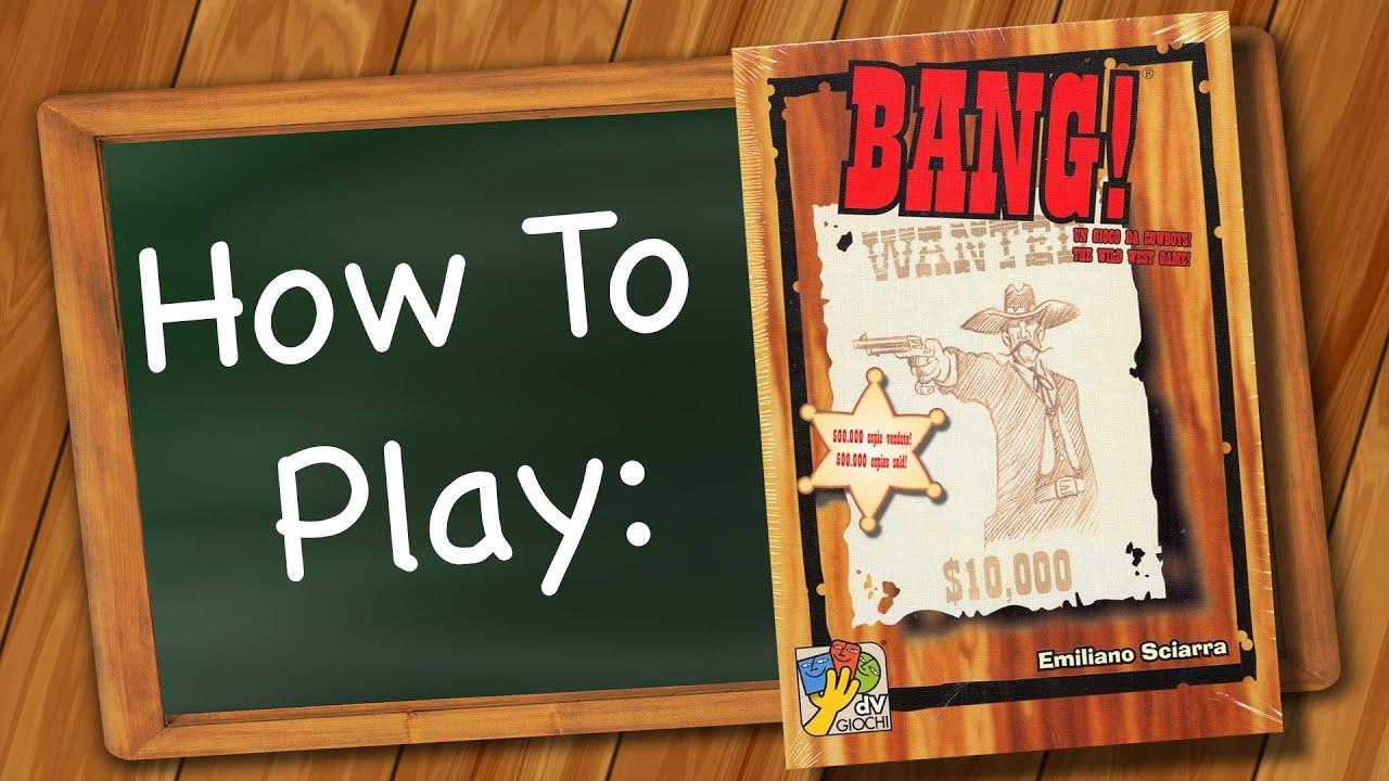 How to play BANG!