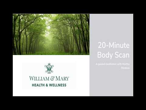 Body Scan Meditation with Martha - 20 Minutes