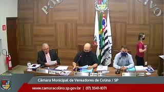 Câmara Municipal de Colina - 9ª Sessão Extraordinária 21/06/2021