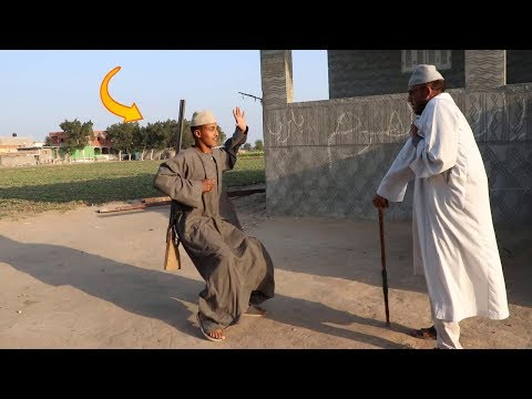 #22الحاج مقطوش عين غفير يحرص البيت بس طلع اغبى ومبيفهمش !! أتحداك ان لا تضحك !!