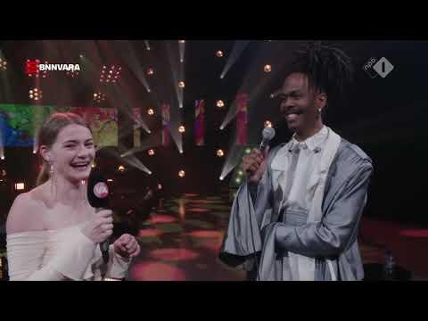 Emma Wortelboer interviewt Jeangu Macrooy over zijn Songfestival-lied