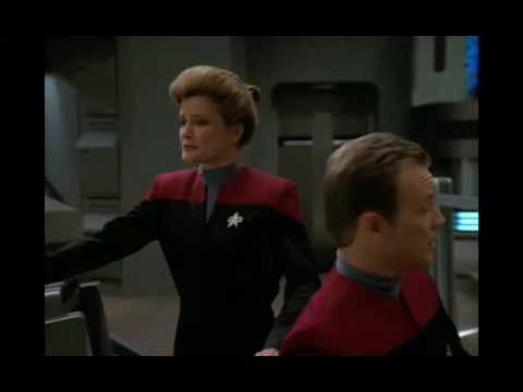 Janeway has Voyager land on a planet