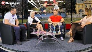 """Vrijeme za sport – Ugostili smo članove KBK  """"Impact"""" Našice – TV STUDIO"""