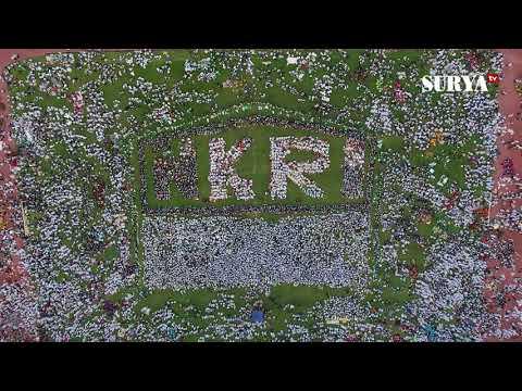 VIDEO DRONE - Suasana Hari Santri Nasional di Sidoarjo