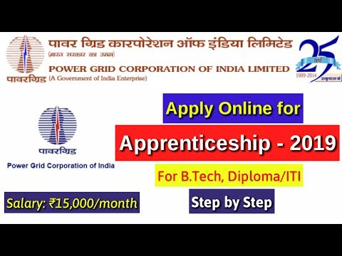 For Diploma/B.Tech/ITI : Apply Online for Powergrid Corporation of India Ltd Apprenticeship Form