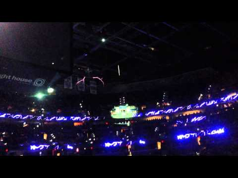 Tesla Coils at Tampa Bay Times Forum