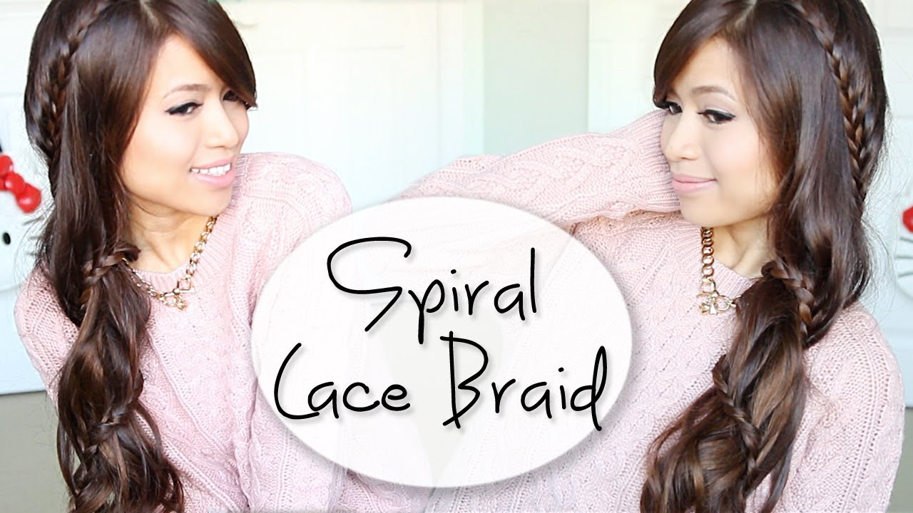 How to: Carousel Lace Braid Hairstyle for Long Hair ...