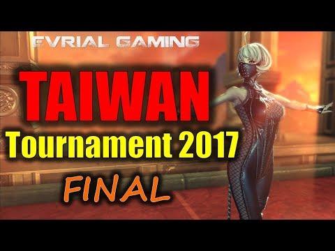 ТАЙВАНЬ 2017 ФИНАЛ Турнир Blade and Soul TAIWAN Tournament