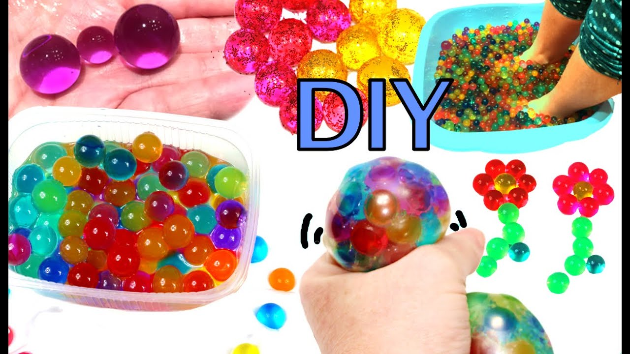 What To Do With Orbeez Or Water Beads Stress Ball And Spa