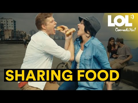 Sharing food together is another thing the pandemic stole from us // LOL ComediHa!