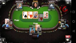 Poker Game World Poker Club - Mobile Game - Gameplay - Poker App - Android - iPhone