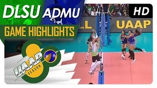 UAAP 80 WV: DLSU vs. ADMU | Game Highlights | March 3, 2018