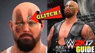 WWE 2K17 Tutorial - FACE PAINT GLITCH!, Create BULLET CLUB Luke Gallows! (#WWE2K17 Guide)