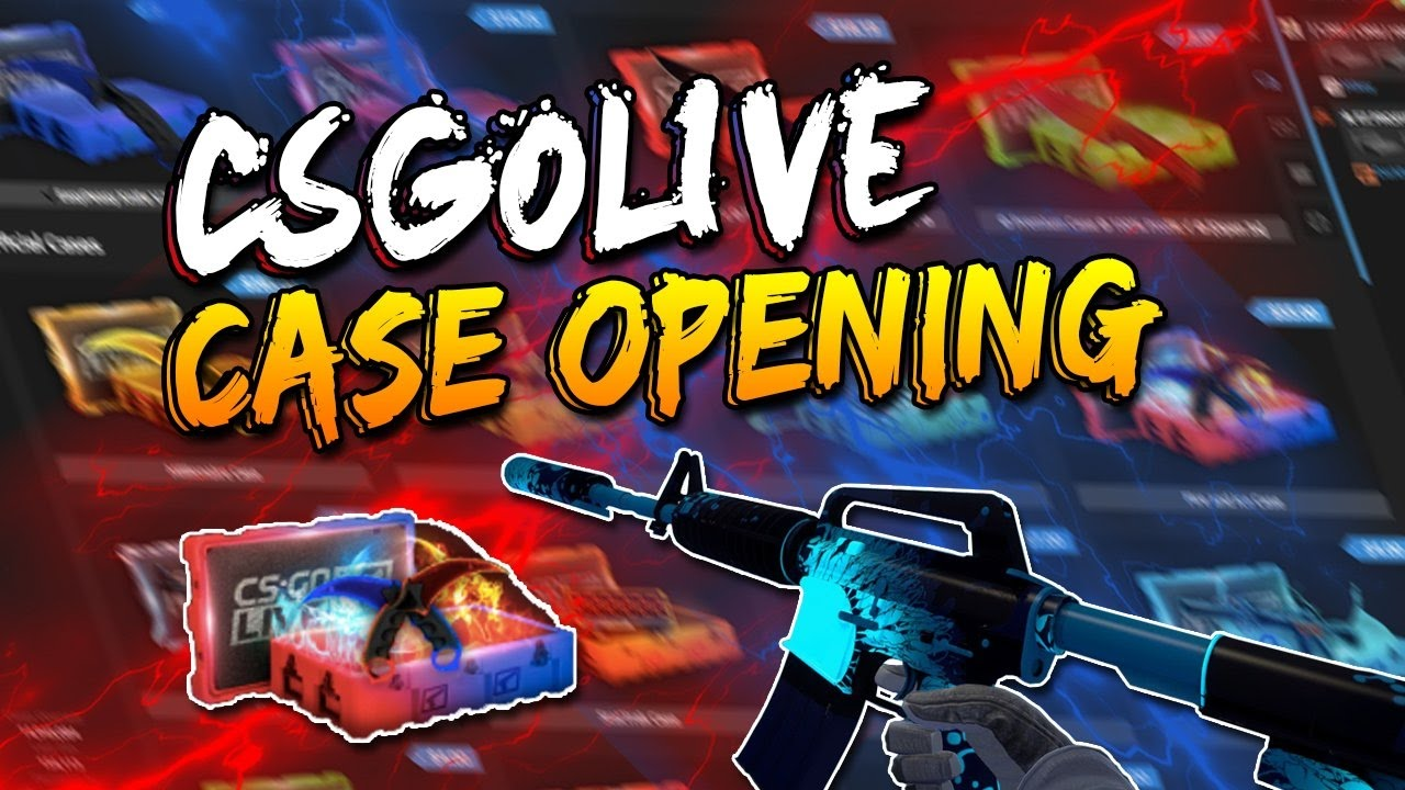 Opening FIRE AND ICE case -@CSGOLIVE