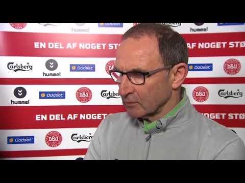 Denmark v Republic of Ireland - post-match interview - Martin O'Neill (11/11/17)