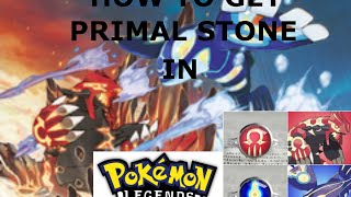 Roblox : How To Be Primal Gro/Kyog In Pokemon Legends