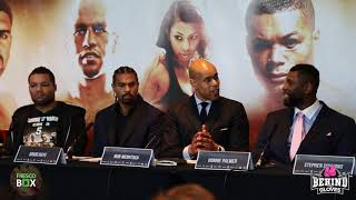 DAVID HAYE ON JOYCE VS. PALMER AND EXPLAINS WHY CHISORA FIGHT DIDN'T HAPPEN