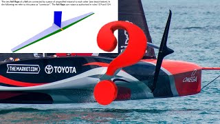 America's Cup Foil Problem and the ETNZ Rule Loophole