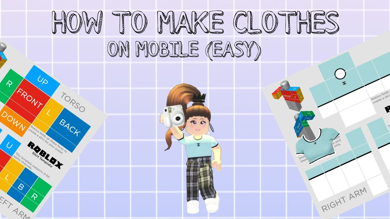 Rose Roblox Shirt How To Make Clothes On Roblox Mobile 2020 Youtube