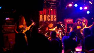 HELIX - When The Hammer Falls - On The Rocks, Helsinki, Finland 21.10.2014