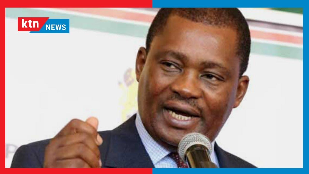 Download Spika Muturi amtaka Uhuru kuheshimu kanuni za bunge anapofanya mabadiliko ya nafasi za uongozi