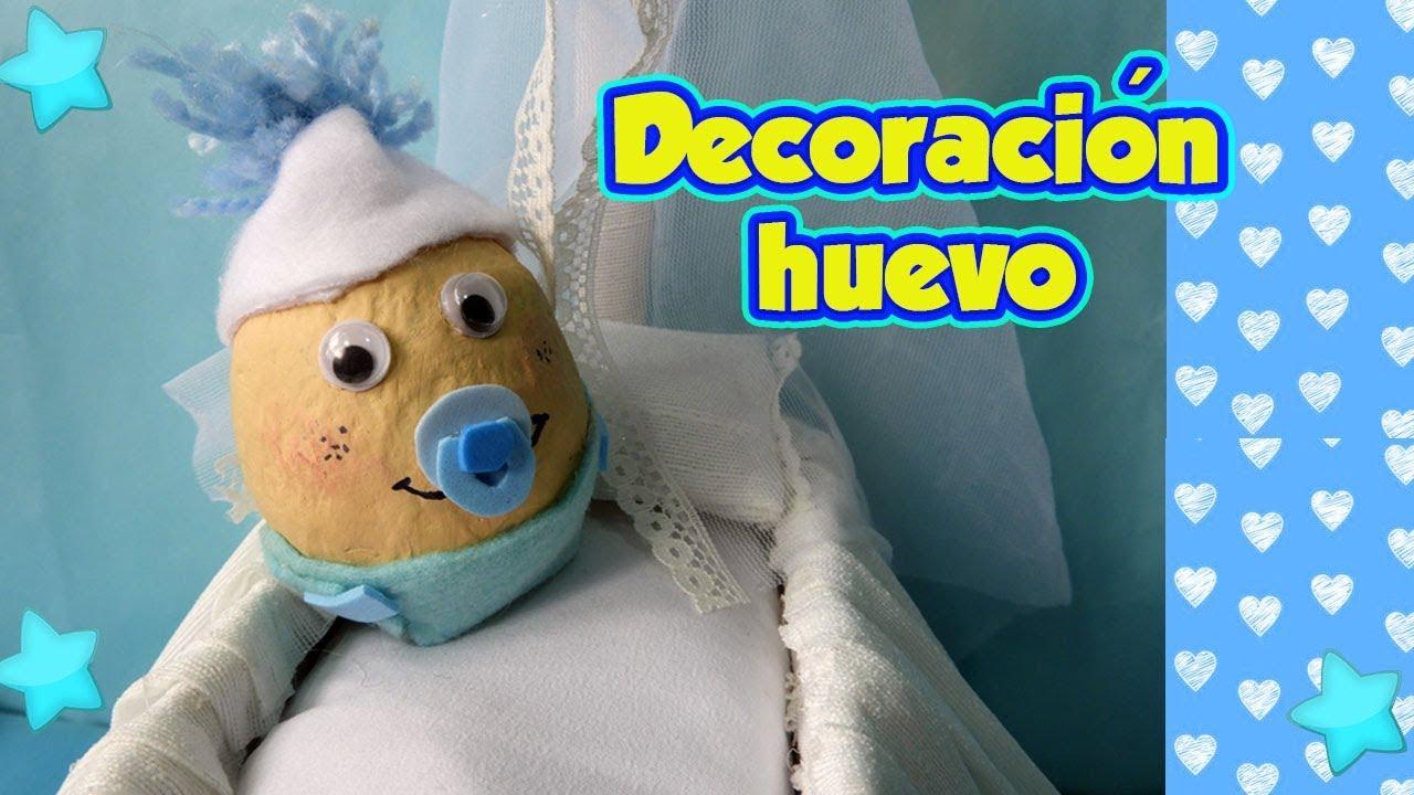 Huevo beb decorado proyecto escolar manualidades diy - Dibujos de pared para ninos ...