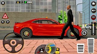 HQ Taxi Driving 3D Taxi Game #4 - Android gameplay
