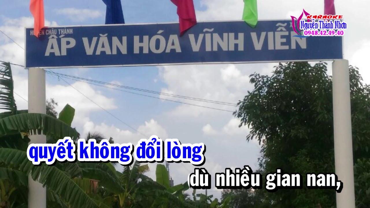 Karaoke vọng cổ TÌNH NGƯỜI XA XỨ - DÂY KÉP [T/g Hoàng Giang]