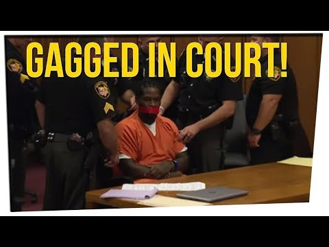 Judge Tapes Convict's Mouth Shut in Court ft. Steve Greene