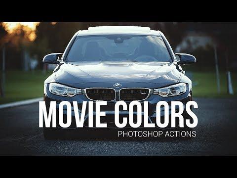 Movie Colors \ Кинематографичные экшены для Photoshop