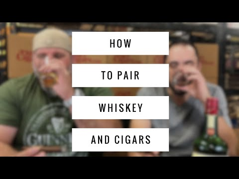 How to pair WHISKEY and CIGARS (ft. Crowned Heads)