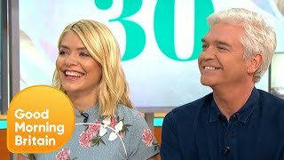 Holly and Phillip Celebrate This Morning Turning 30 | Good Morning Britain