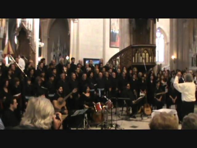 Misa Criolla - Kyrie - Coro Sadaic, Coral de las Americas, Coro Quilmes, Grupo GIA