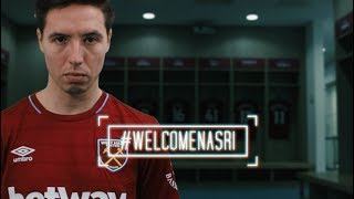 "WEST HAM UNITED SIGN SAMIR NASRI | ""IT'S THE BEST JOB IN THE WORLD"""