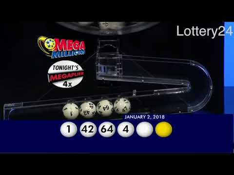 2018 01 02 Mega Millions Numbers and draw results