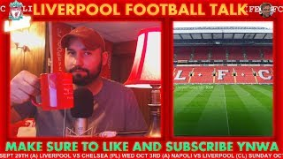 LIVERPOOL VS CHELSEA | CARABAO CUP MATCH PREVIEW #LFC LIVE STREAM